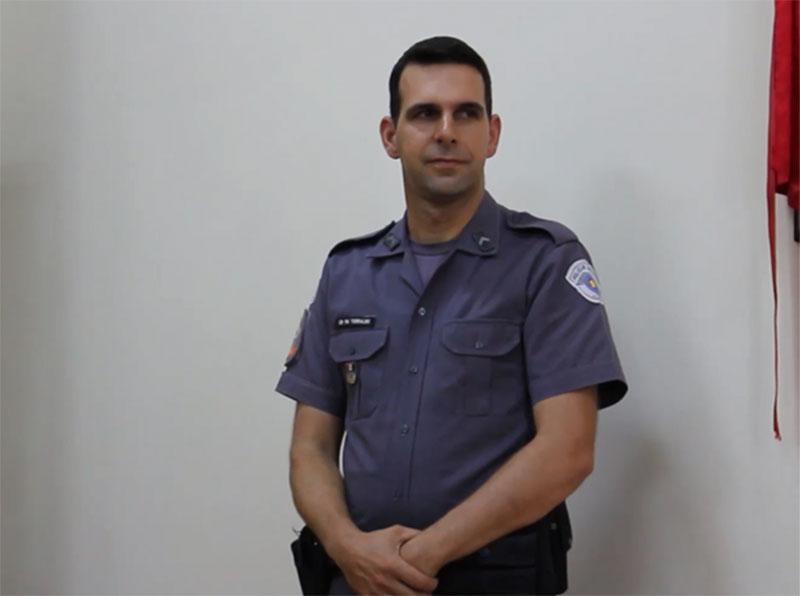 Cabo Eduardo Antônio Torralbo é eleito Policial do Mês em Paraguaçu