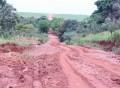 Chuvas prejudicam estradas rurais em Paraguaçu Paulista
