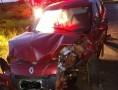 Motorista fica ferido após bater em caminhão na rodovia SP-294 em Paraguaçu Paulista