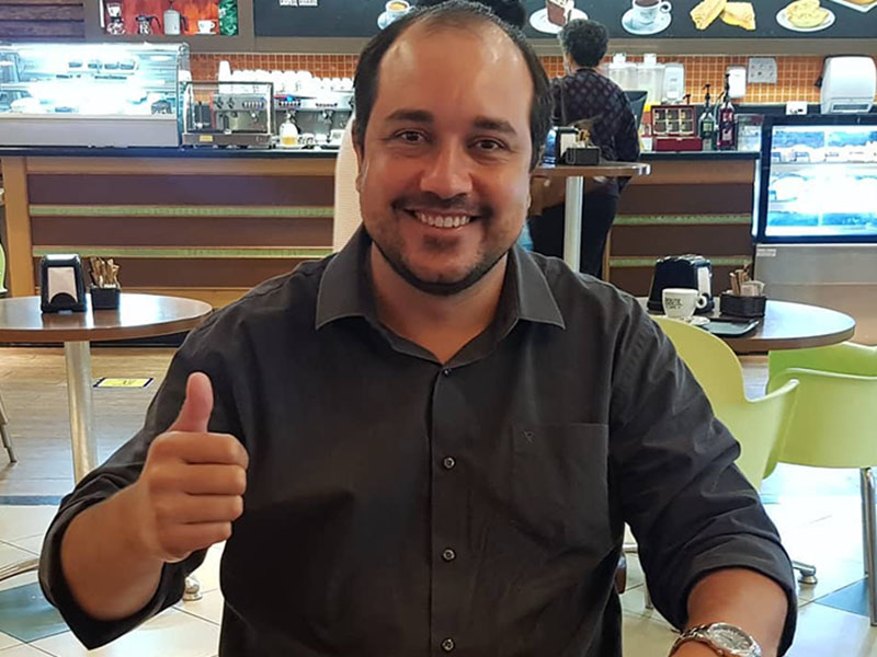 Ex-prefeito de Maracaí, Eduardo Tatu, está com Covid-19