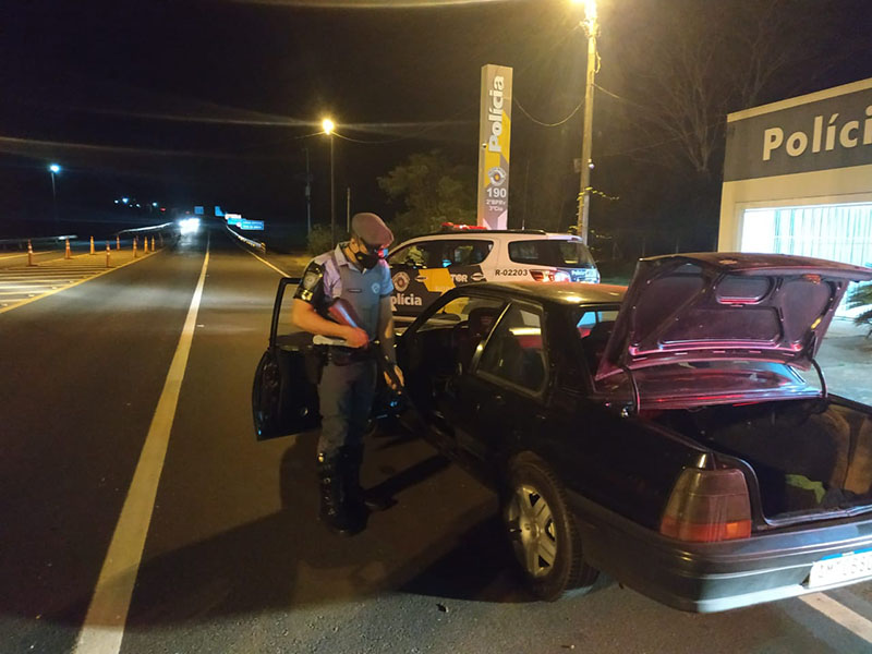 Polícia Rodoviária apreende espingarda durante operação em Florínea