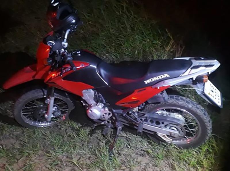 Motociclista atropela porco e morre em acidente em vicinal de Herculândia