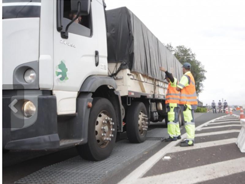 Concessionária de Rodovias realiza Operação Balança em Assis e Prudente