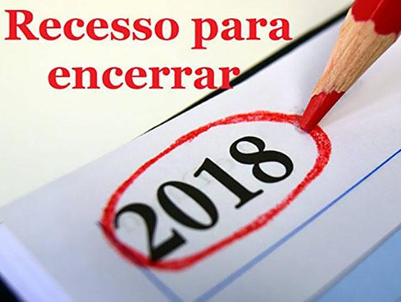 Prefeitura de Paraguaçu terá recesso no fim do ano