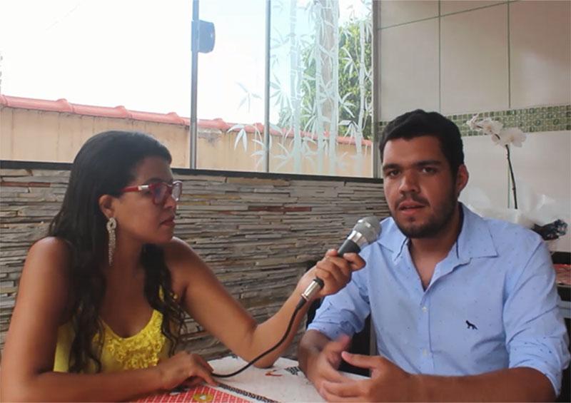 Eleito com quase 500 votos, Vitor Bini será o vereador mais jovem da Câmara Municipal