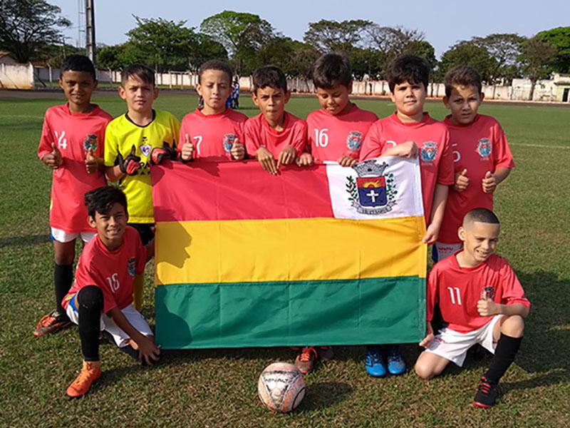 Futebol de base de Paraguaçu participa da 11ª Copa Eco Turística Mercosul de Rancharia