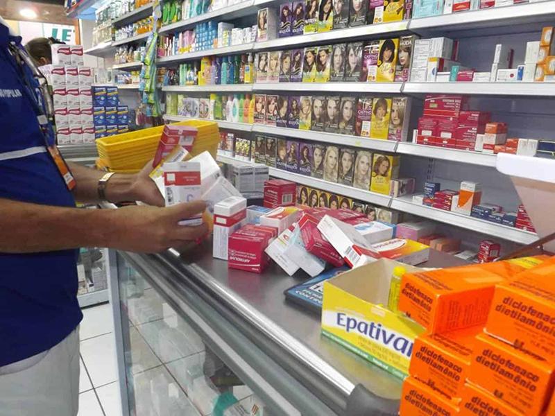 Farmácias e drogarias de Paraguaçu devem controlar a entrada de pessoas