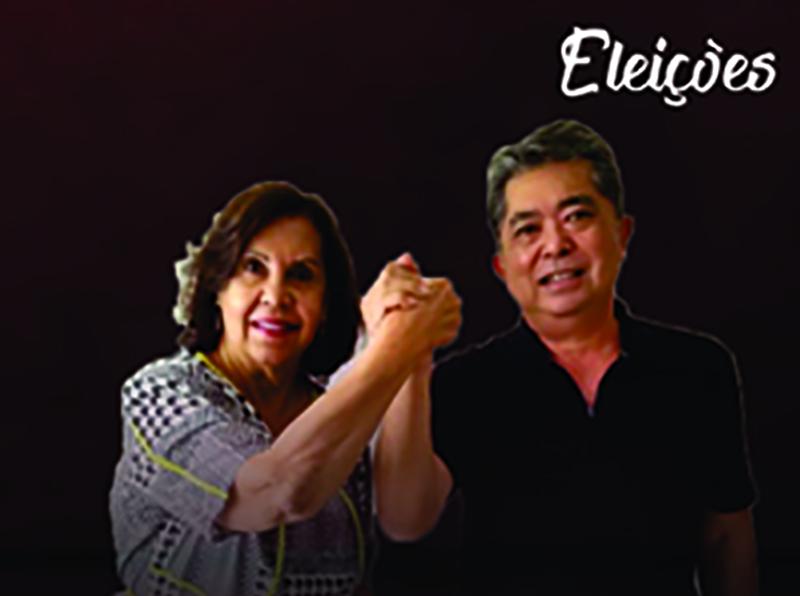 Candidata à reeleição, Almira Garms e seu vice César Kikei  serão os entrevistados de hoje