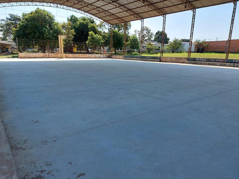 CCI de Paraguaçu terá quadra e fachada reformadas