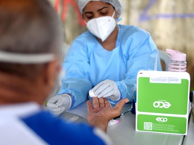 Brasil tem 78% de pessoas curadas da Covid-19