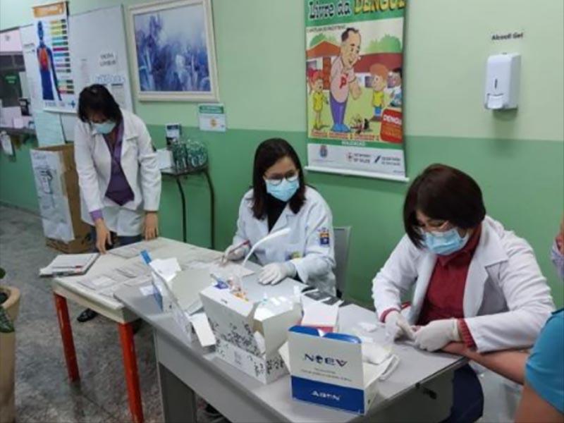 SAE/CTA realiza mais de mil testes de hepatites virais durante o Julho Amarelo