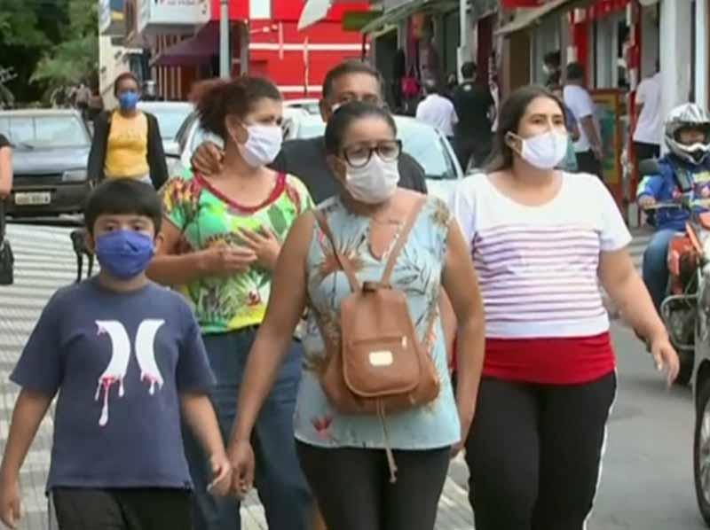 Marília torna obrigatório uso de máscaras em espaços públicos como prevenção à Covid-19