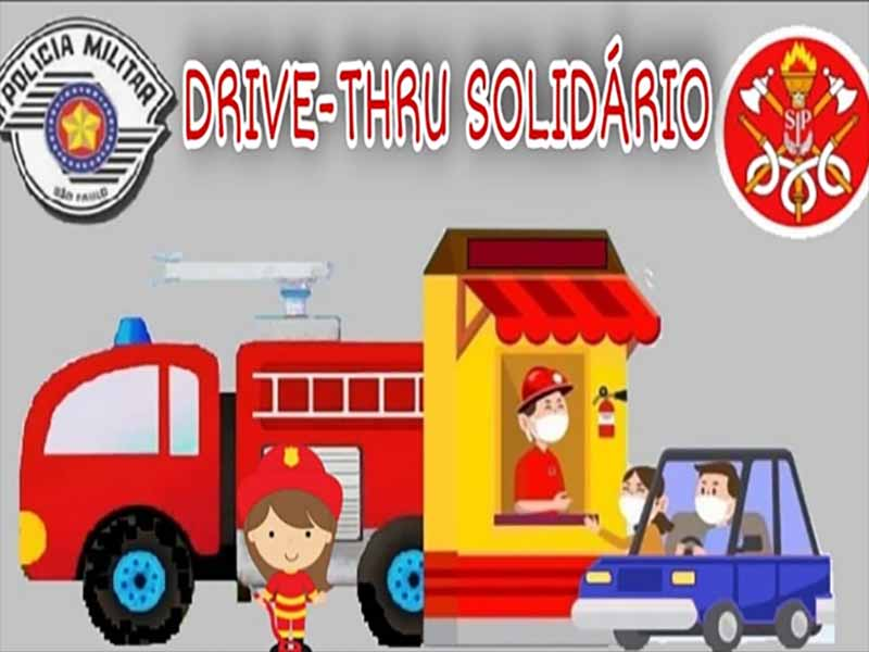Corpo de Bombeiros de Paraguaçu Paulista promove Drive Thru Solidário