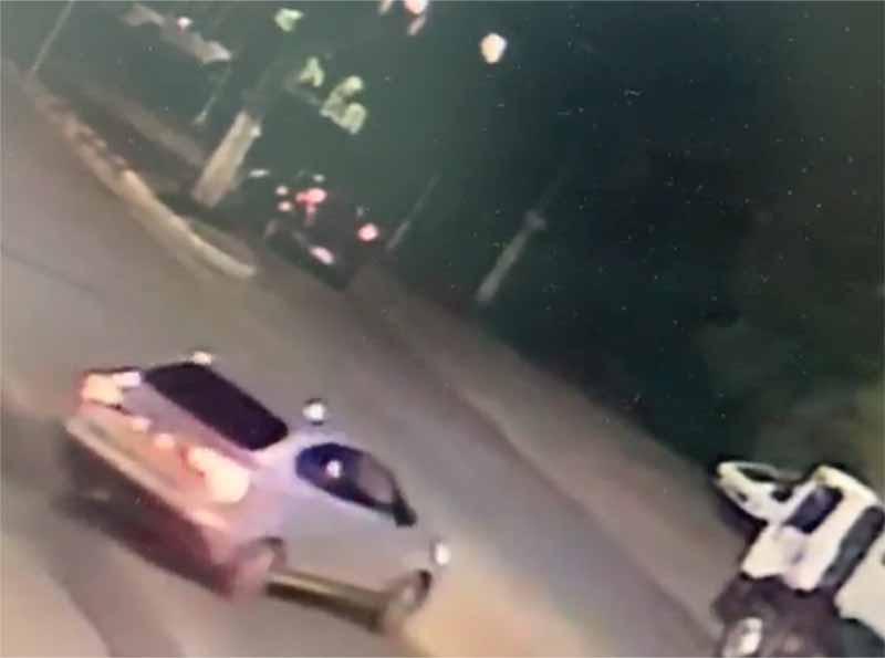Câmeras de segurança registram momento em que jovem é assaltado em Paraguaçu Paulista