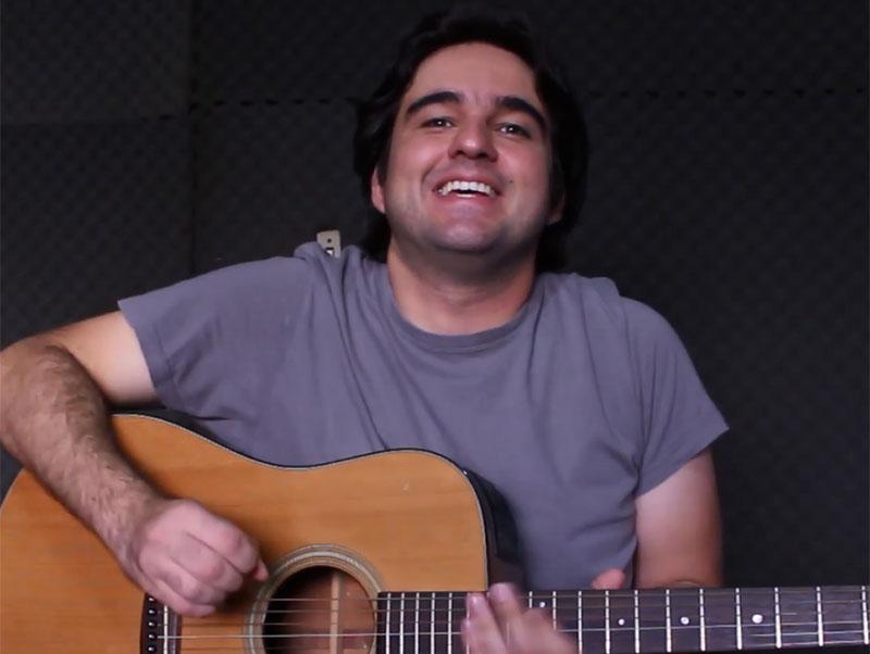 Tiago Abreu ensina a tocar o clássico Tocando em Frente, de Almir Sater