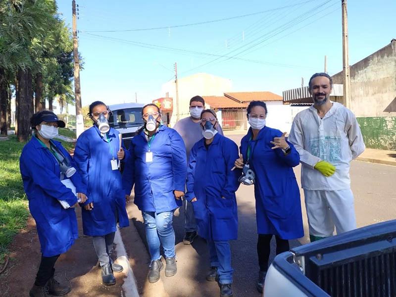 Prefeitura de Maracaí realiza nebulização contra a Dengue