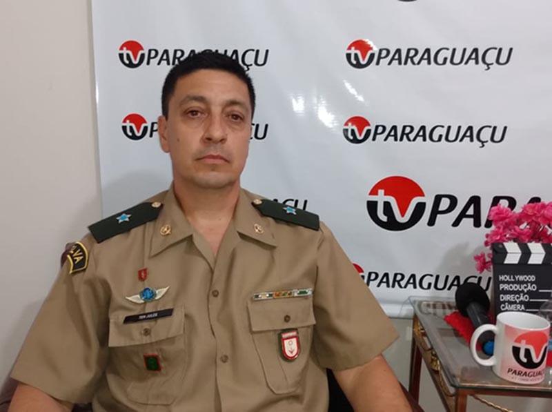 Após três anos, tenente Jules se despede do TG de Paraguaçu Paulista