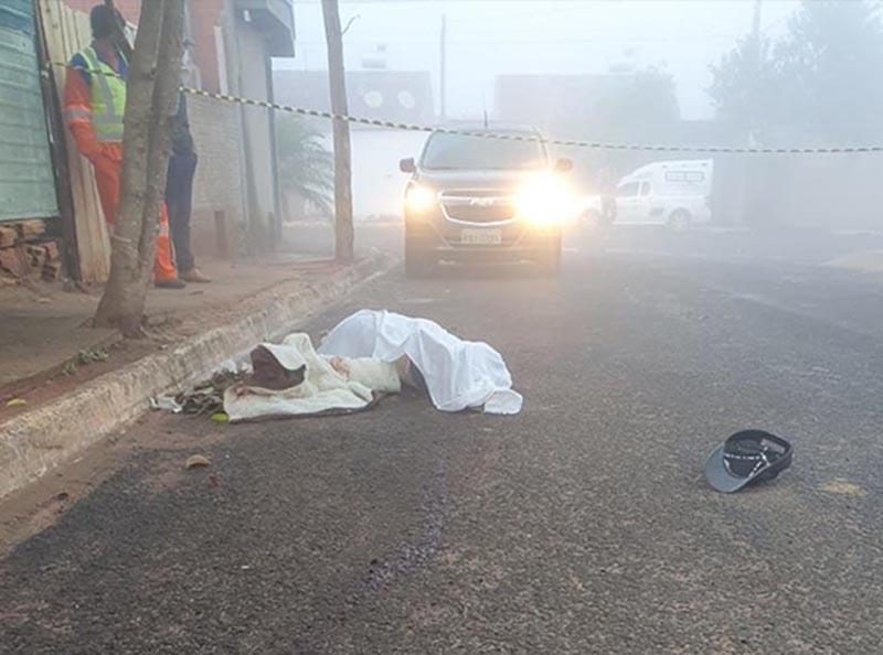 Homem é preso após matar outro a facadas durante briga em Echaporã