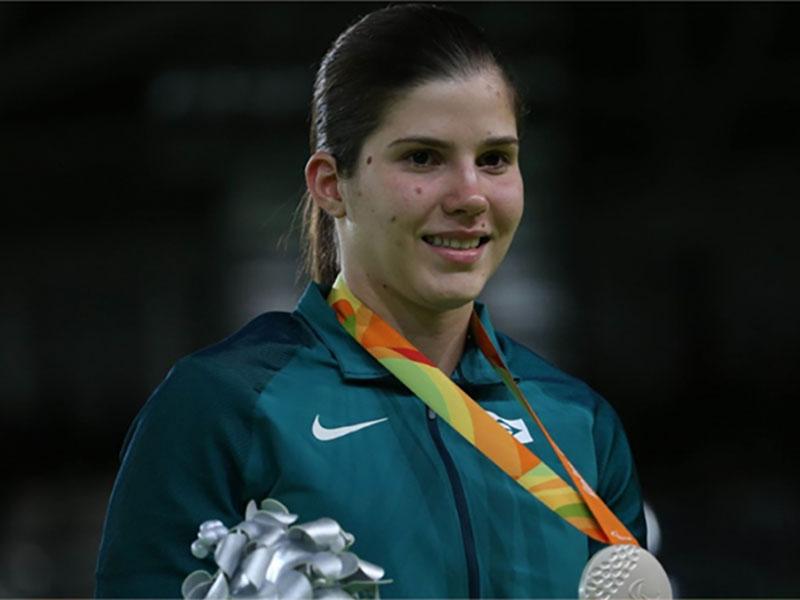 Campeã mundial paralímpica de Judô Alana Maldonado estará em Paraguaçu para aulas gratuitas