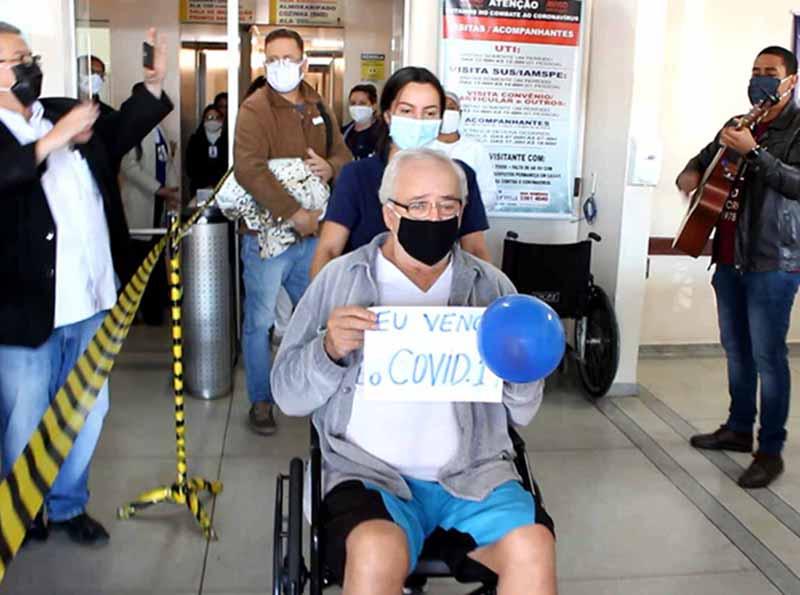 Idoso de 70 anos é curado da Covid-19 em Paraguaçu Paulista
