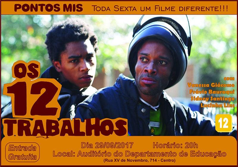 Nesta sexta tem exibição de filme pelo Pontos Mis em Paraguaçu