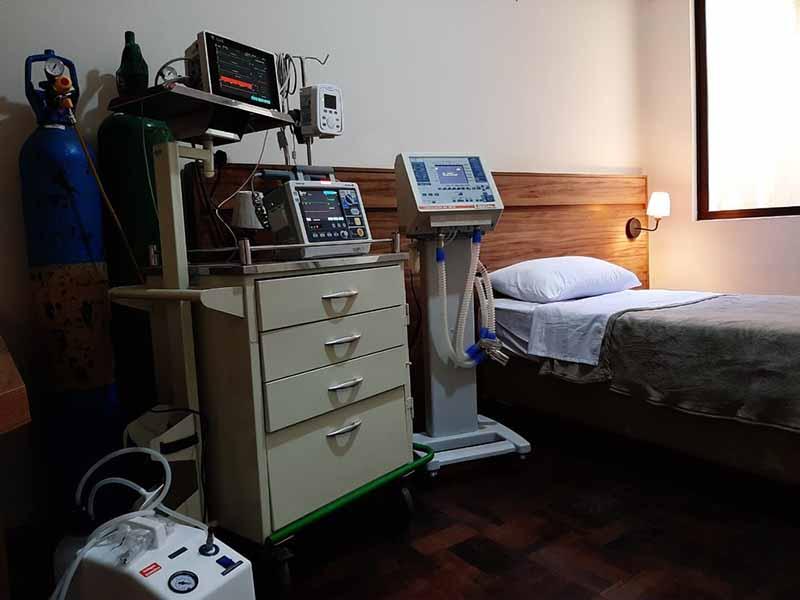 Ourinhos inaugura hospital em hotel para atender pacientes com Covid-19