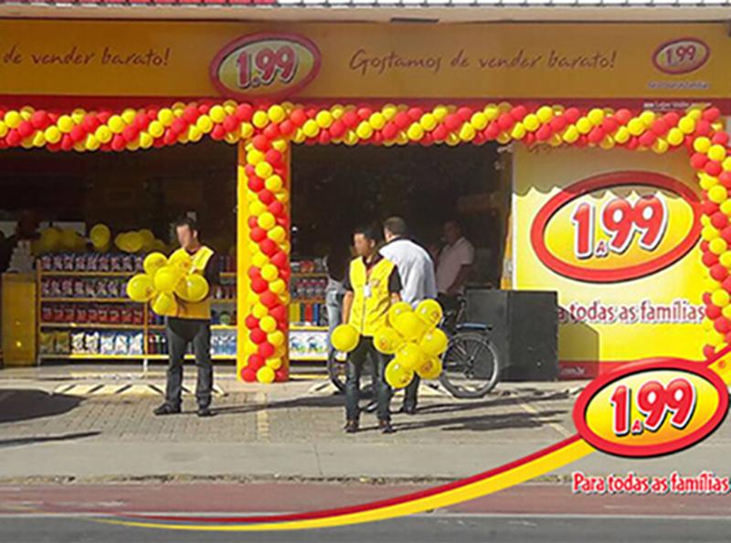 Rede 1A99 inaugura loja no mês de dezembro em Paraguaçu Paulista