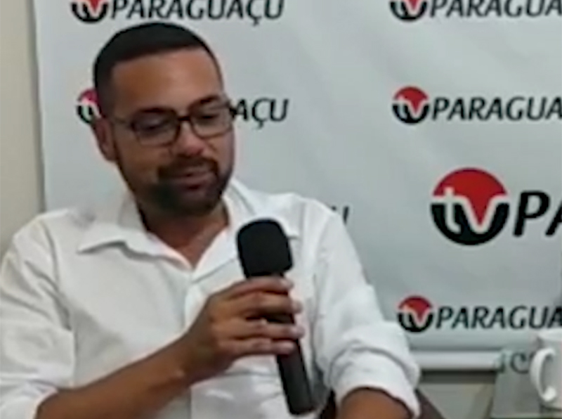 Fábio Santos inicia vida política como o segundo vereador mais votado em Paraguaçu