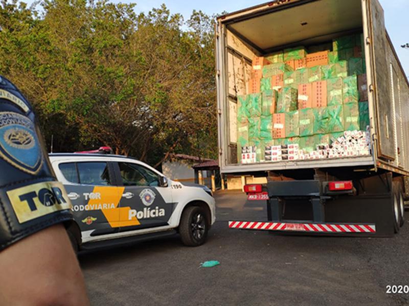Polícia Rodoviária fecha o cerco contra o contrabando na região