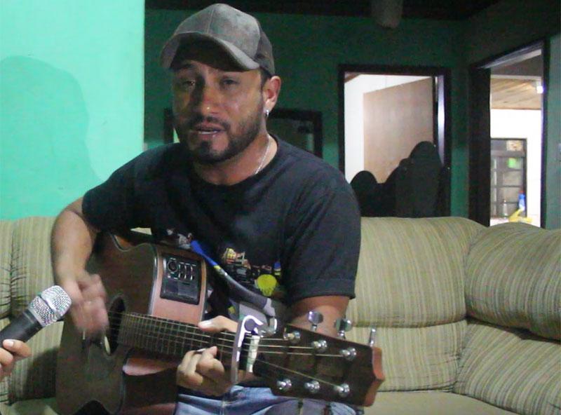 Diegoh Fontana: sucesso na música em Paraguaçu