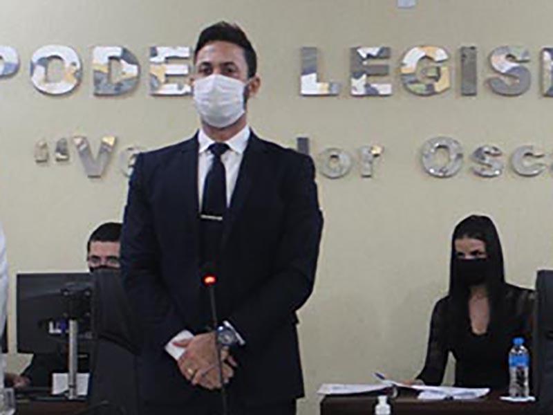Júnior Baptista é eleito presidente da Câmara para o biênio 2021/2022