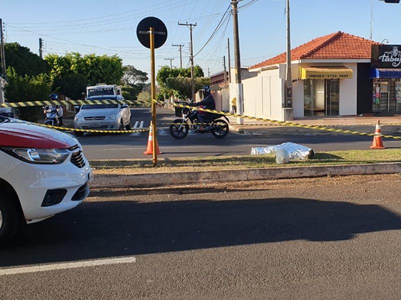 Motociclista de 29 anos morre em acidente em avenida de Ourinhos