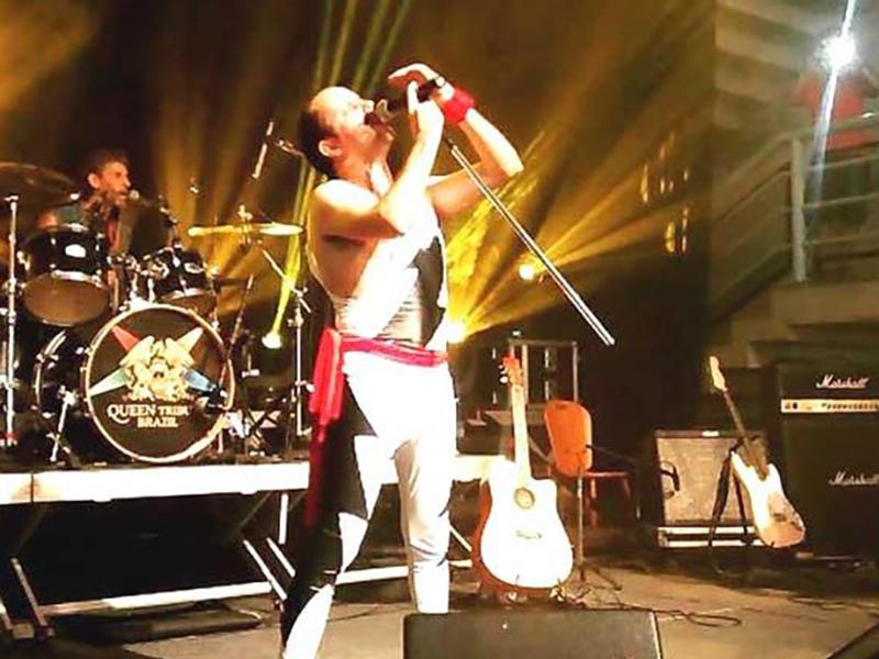 Banda que faz tributo ao Queen se apresentará em Paraguaçu Paulista