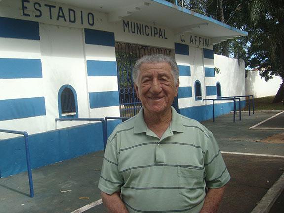 Conheça Aristides Rosa, autor do primeiro gol no Estádio Carlos Affini