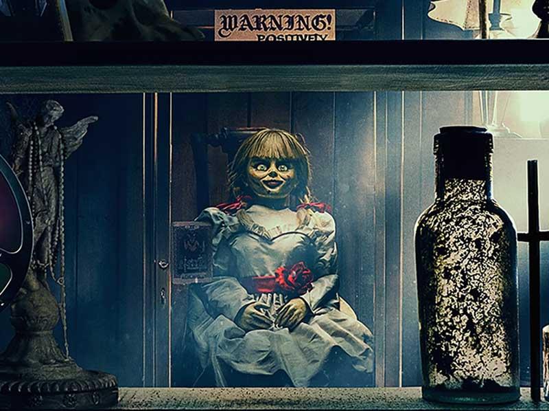 Se a sua vibe é um filme de terror, temos uma dica assustadora pra você: Annabelle 3