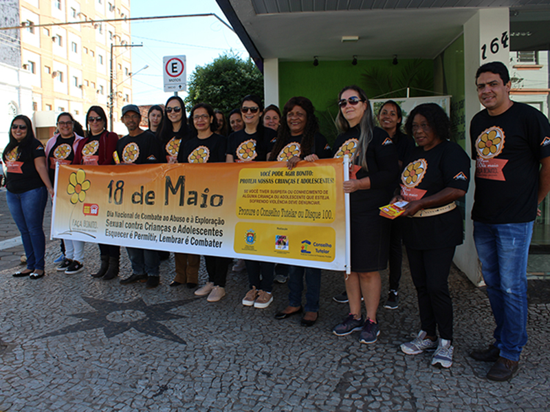 Assistência Social e CREAS realizam campanha de combate à exploração sexual de crianças