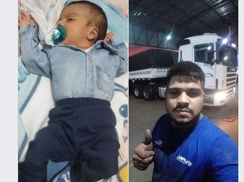 Pai e bebê morrem após carro capotar no trevo de acesso a Florínea
