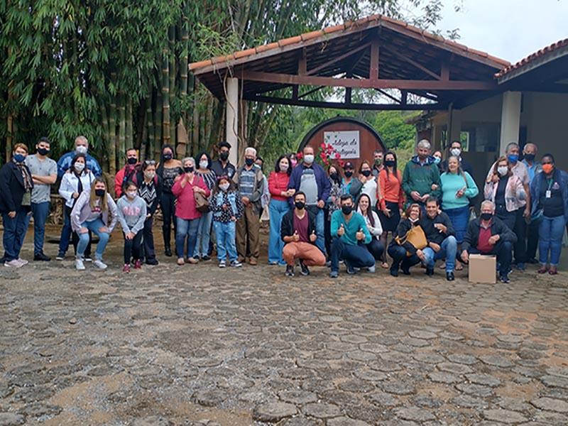 Paraguaçuenses viajam para o roteiro do vinho em Jundiaí