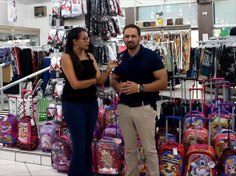 A Calcevest Mega Loja tem ampla variedade de mochilas escolares