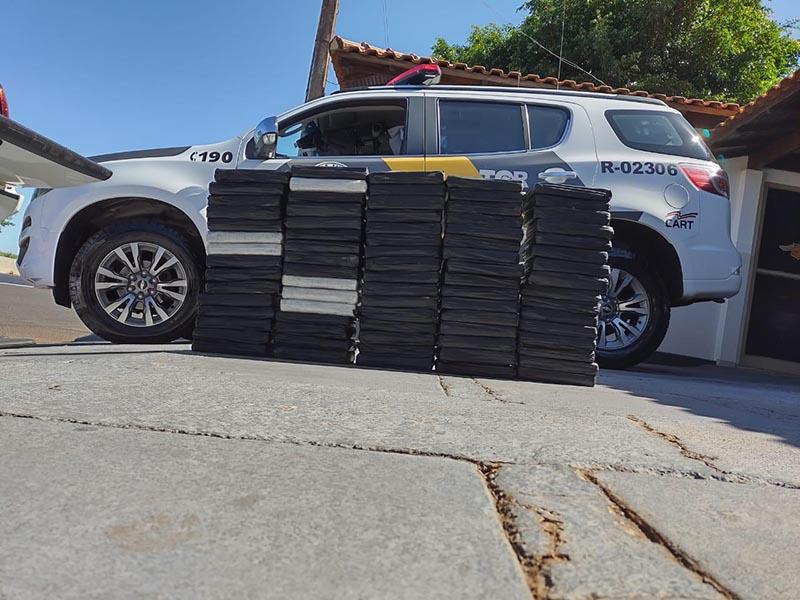 Polícia Rodoviária apreende grande quantidade cocaína em Ourinhos