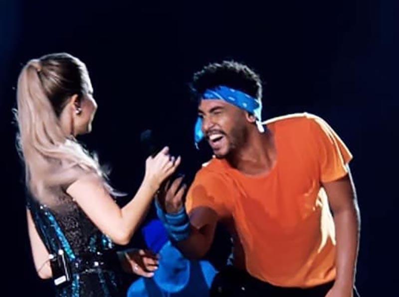 Paraguaçuense integra equipe de dançarinos da turnê de Sandy & Júnior