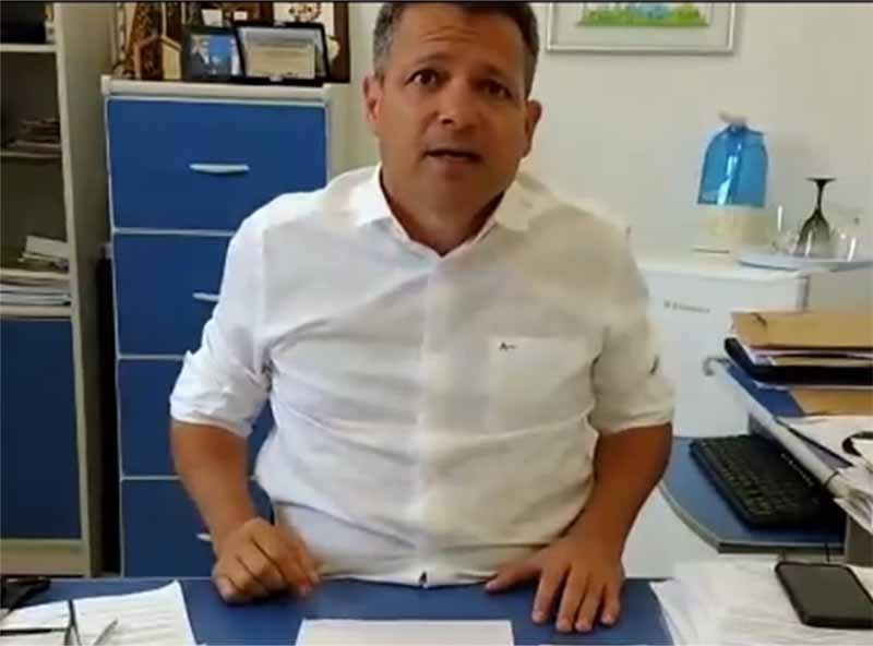 Teste rápido de sorologia do Covid-19 feito pelo prefeito de Quatá dá positivo