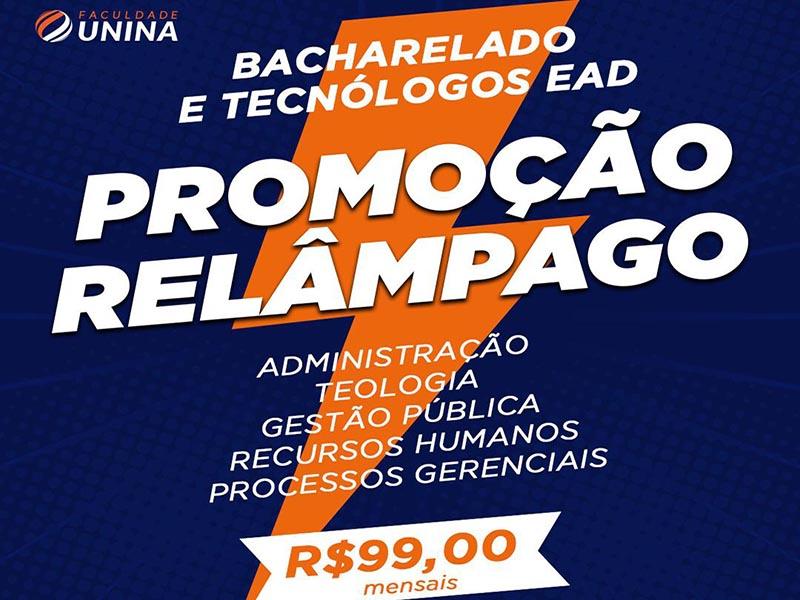 Faculdade Unina oferece cursos EAD a R$99 mensais em Paraguaçu Paulista