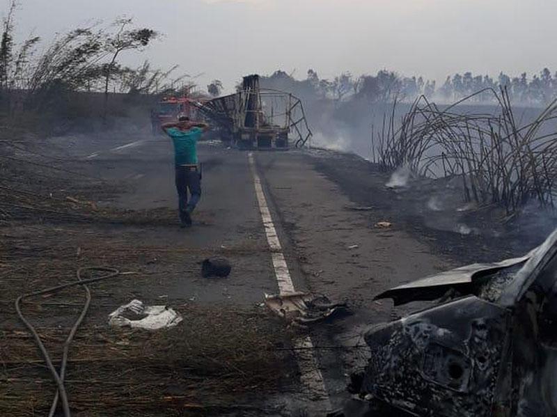 Polícia Civil já ouviu dez pessoas nas investigações sobre tragédia na SP-284
