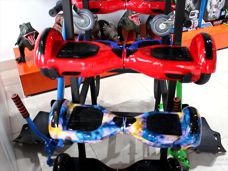Barretto Mega Store traz a moda do Hoverboard e motos elétricas para Paraguaçu