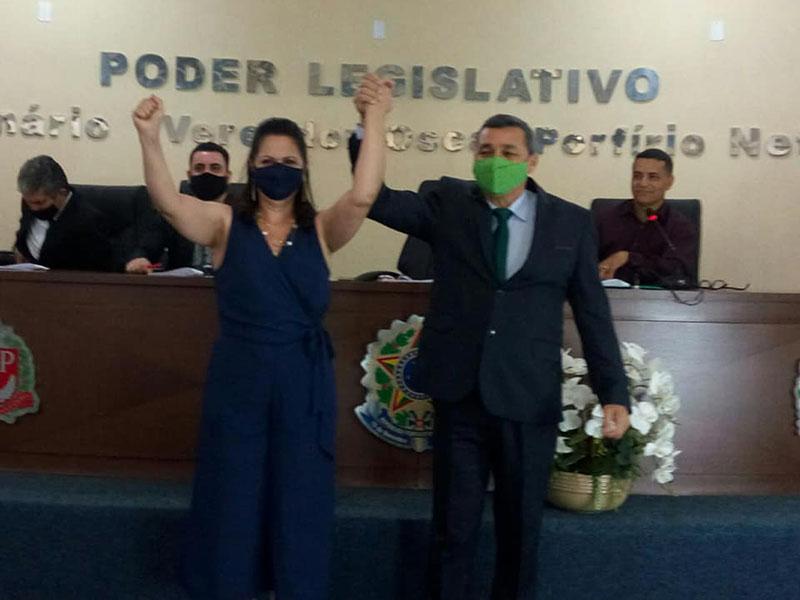 Podemos oficializa candidatura de Serginho à prefeitura de Paraguaçu; Carla Vito será vice