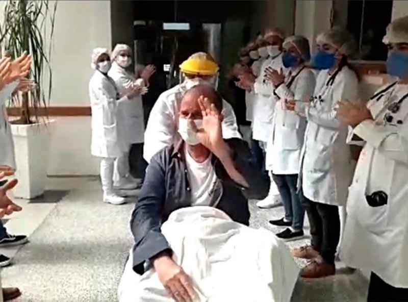 Prefeito de Assis, José Fernandes, tem alta hospitalar após ser internado com Covid