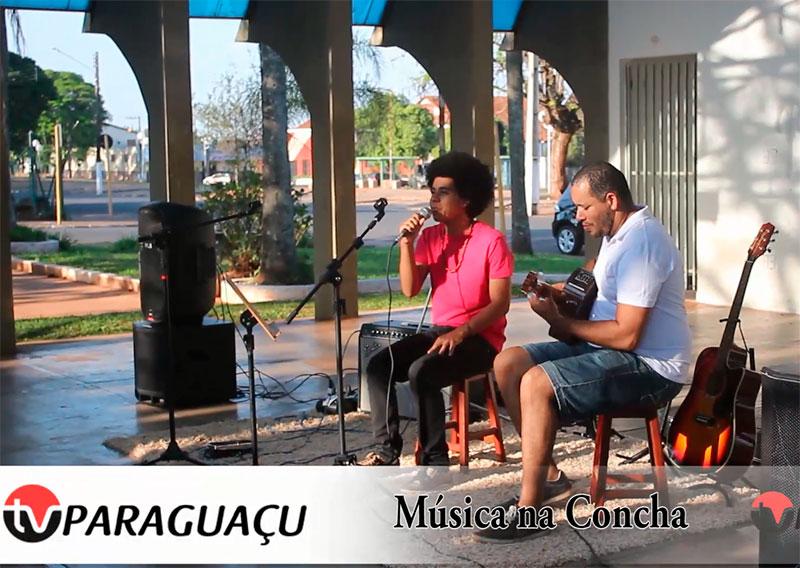 Tarde musical na Concha Acústica de Paraguaçu é sucesso
