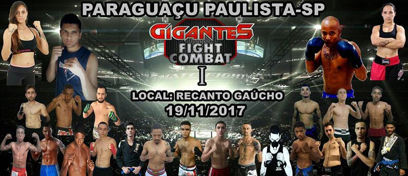Evento de MMA agita Paraguaçu neste mês de novembro