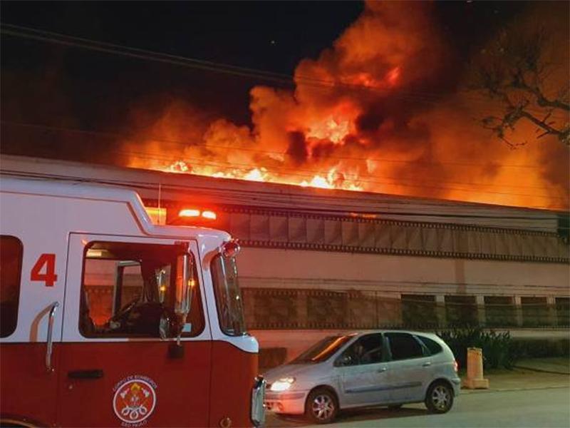 Incêndio atinge unidade da Cinemateca Brasileira na Zona Oeste de SP